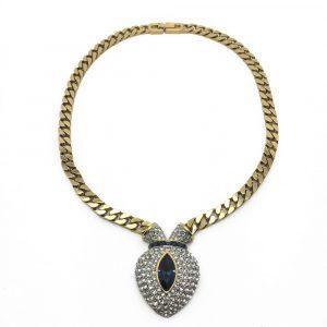 Vintage Attwood & Sawyer Heart Necklace Jennifer Gibson Jewellery