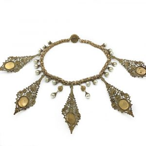 Vintage DeMario Collar Necklace Jennifer Gibson Jewellery