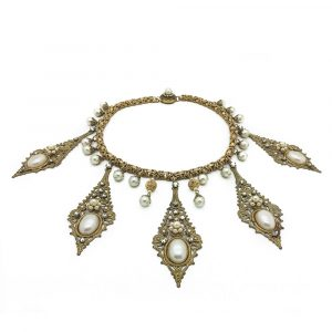 Vintage DeMario Collar Necklace Jennifer Gibson Jewellery