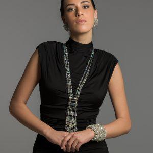 Crystal Tassel Sautoir_Vintage Costume Jewellery