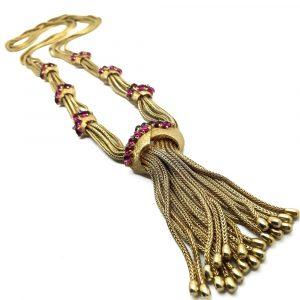 vintage Boucher Sautoir Necklace