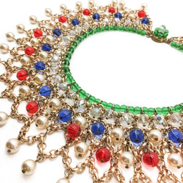 Vintage Mughal Style Collar Necklace