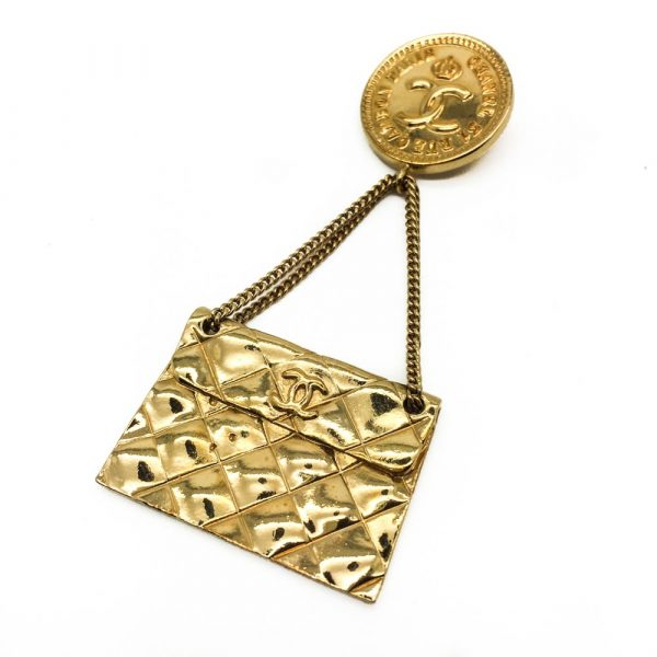 Jennifer Gibson Jewellery   Vintage Costume Jewellery Chanel Brooch Vintage Chanel Jewellery Vintage Brooch Vintage Chanel