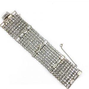 Vintage Weiss Crystal Bracelet1950s