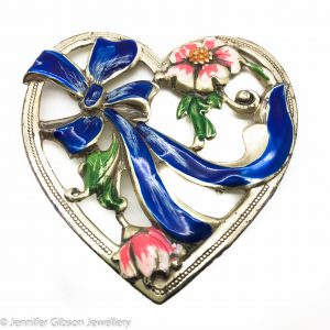 Vintage Costume Jewellery | Coro Heart