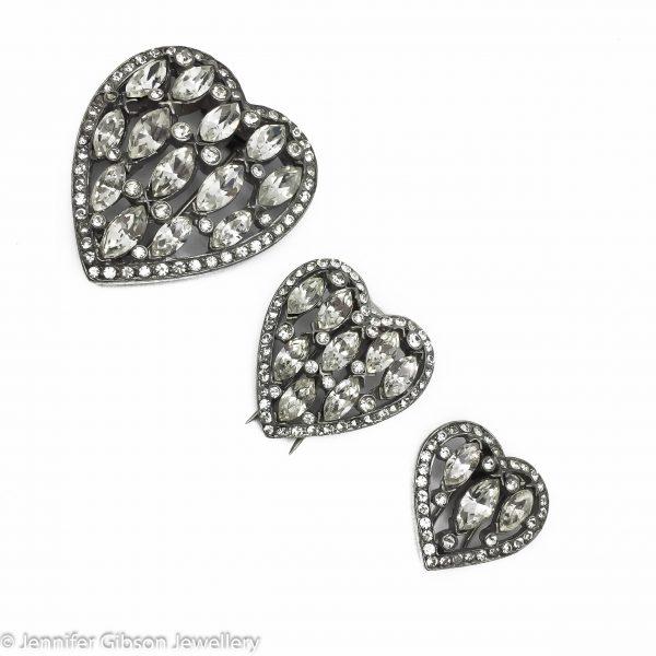 vintage costume jewellery | eisneberg heart