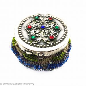 Antique Purse, Tam O Shanter, Beaded Purse, Antique Bag
