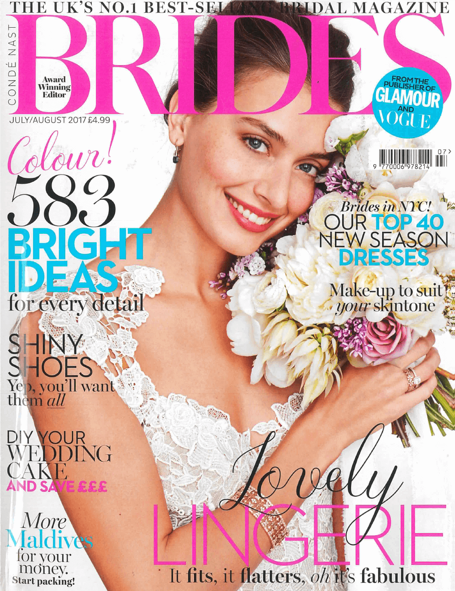 Vintage Costume Jewellery By Jennifer Gibson Featured In Brides May/June Issue