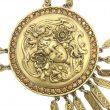 Goldette Vintage Necklace 1960s Art Noveau Inspired