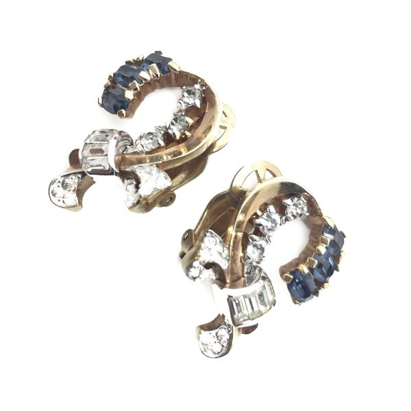 Mazer Earrings Vintage Costume Jewellery