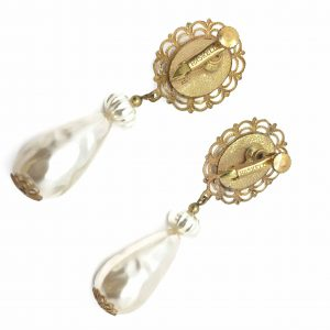 Miriam Haskell Vintage Earrings Costume Jewellery Vintage Earrings