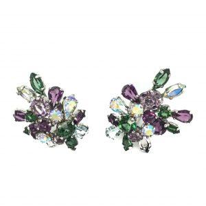 Vintage Dior Earrings 1958 Costume Jewellery Vintage Earrings Christian Dior Jewellery