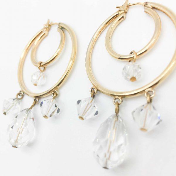 Monet Earrings Vintage Costume Jewellery Jennifer Gibson