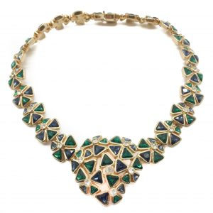 Vintage Dior Necklace Vintage Dior Vintage Necklace Vintage Jewellery Vintage Costume Jewellery