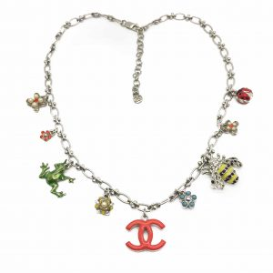 CHANEL Necklace Vintage Charms The Garden Vintage Costume Jewellery VIntage Jewellery Vintage Necklace, Vintage Jewelry, Jewellery Shop, Costume Jewellery, Vintage Costume Jewellery