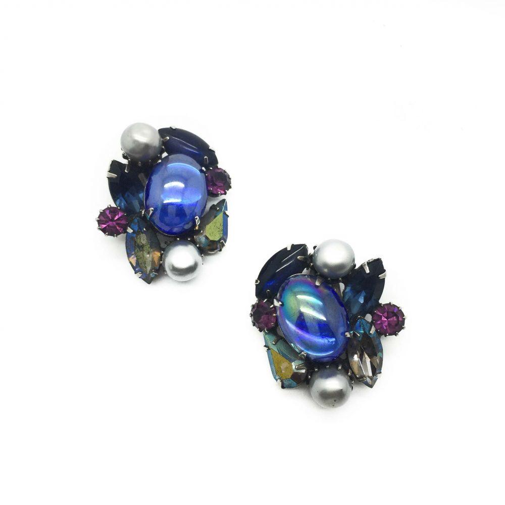 Kramer Earrings, Vintage Earrings, Vintage Costume Jewellery, Vintage Jewellery, Vintage Jewelry, Jewellery Shop, Costume Jewellery, Vintage Costume Jewellery