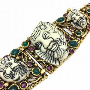 Selro Vintage Devil Bracelet, Selro jewellery, Vintage Costume Jewellery, Vintage Jewellery, Vintage Necklace, Vintage Jewelry, Jewellery Shop, Costume Jewellery, Vintage Costume Jewellery