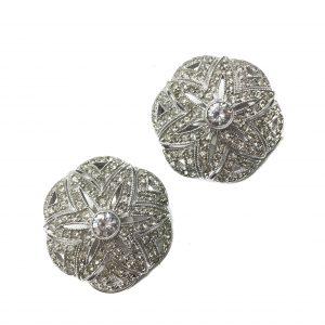 Italian Earrings, Silver Earrings, Vintage Costume Jewellery, Vintage Jewellery, Vintage Necklace, Vintage Jewelry, Jewellery Shop, Costume Jewellery, Vintage Costume Jewellery