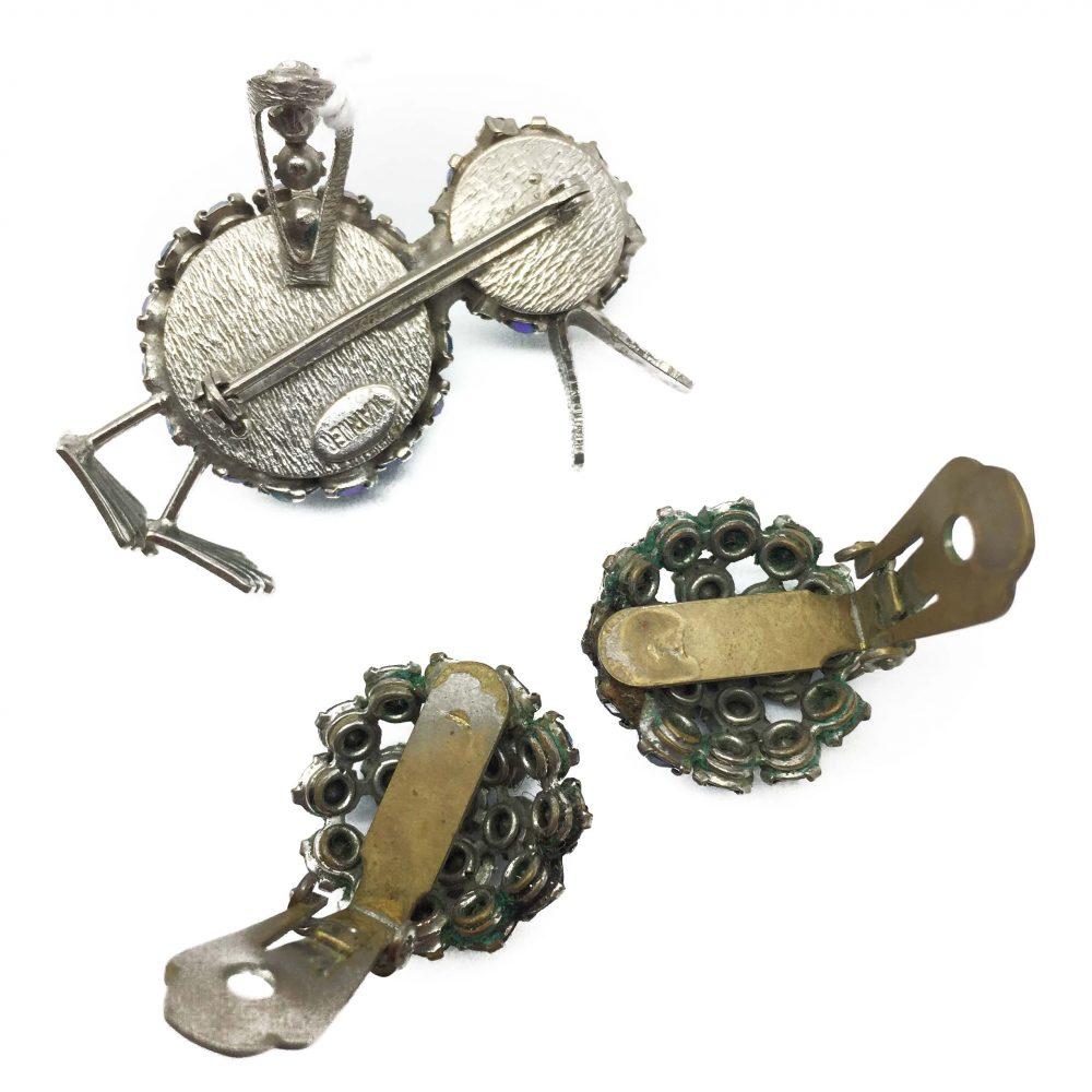 Warner Vintage Brooch, Vintage Costume Jewellery, Costume Jewellery, Fashion Jewellery, Vintage Jewellery, Antique Jewellery, Duck Brooch,