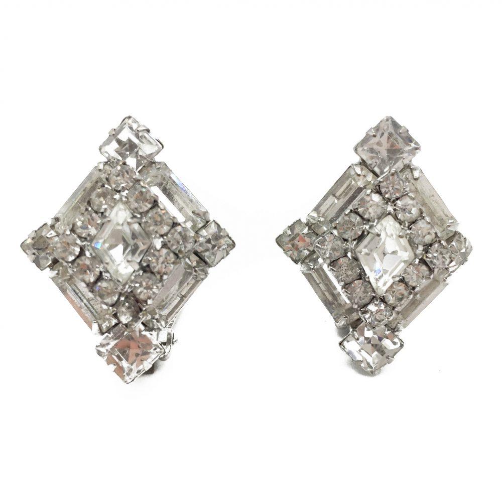 Weiss Rhinestone Earrings, Vintage Earrings, Vintage Costume Jewellery, Vintage Jewellery, Vintage Jewelry, Jewellery Shop, Costume Jewellery, Vintage Costume Jewellery