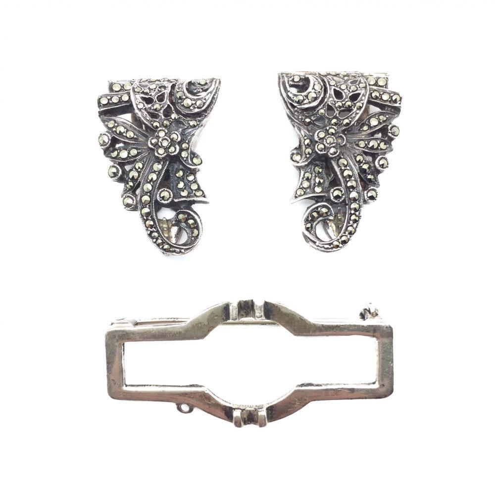 Double Dress Clip, Fashion Jewellery, Vintage Costume Jewellery, Vintage Jewellery, Vintage Necklace, Vintage Jewelry, Jewellery Shop, Costume Jewellery, Vintage Costume Jewellery