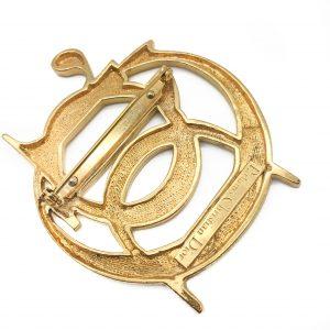 Dior Logo Brooch