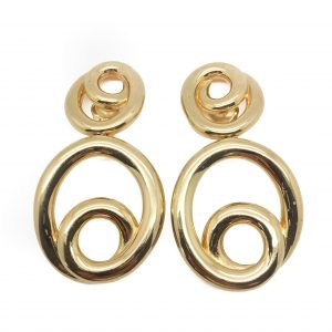 Dior Hoop Earrings
