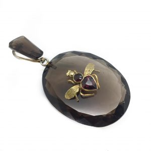 Antique Bee Pendant