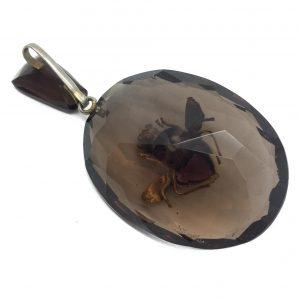Antique Bee Pendant