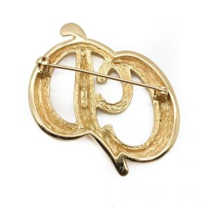 Dior Gold Brooch