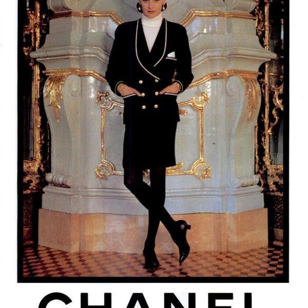 Ines de la Fressange Chanel 1980s Pearl Camellia Earrings Image Right Chanel