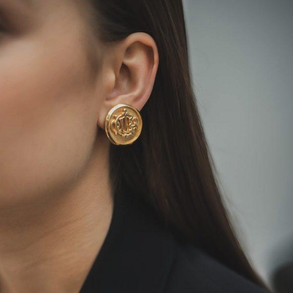 Jennifer Gibson Jewellery Vintage Christian Dior Earrings