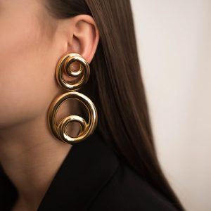 Vintage Dior Hoop Earrings | Jennifer Gibson Jewellery