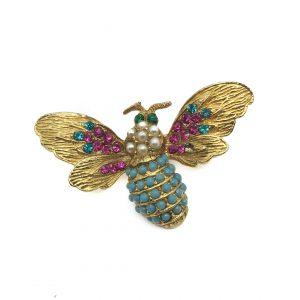Vintage Costume Jewellery Vintage Bee