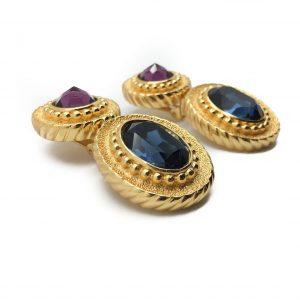 Vintage Costume Jewellery Dior Blue