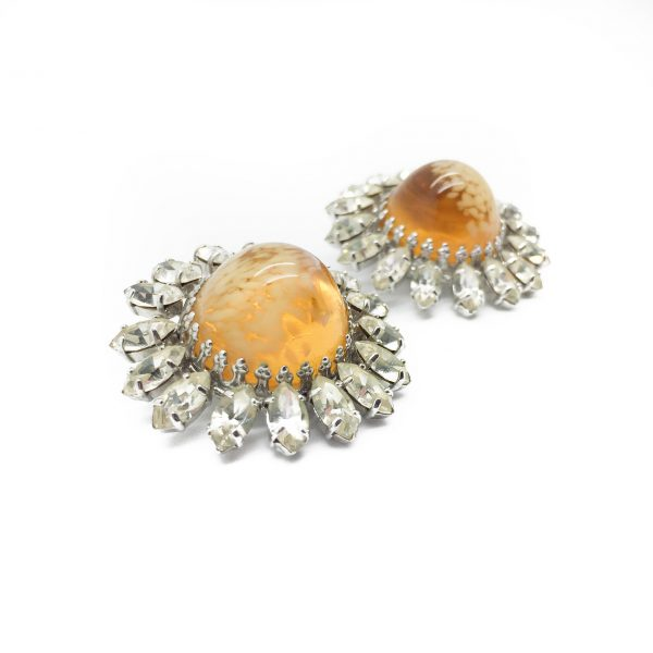 Vintage Costume Jewellery 1960 Dior Earrings