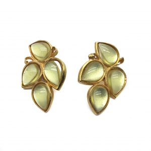 Vintage Costume Jewellery Farah Lister Earrings