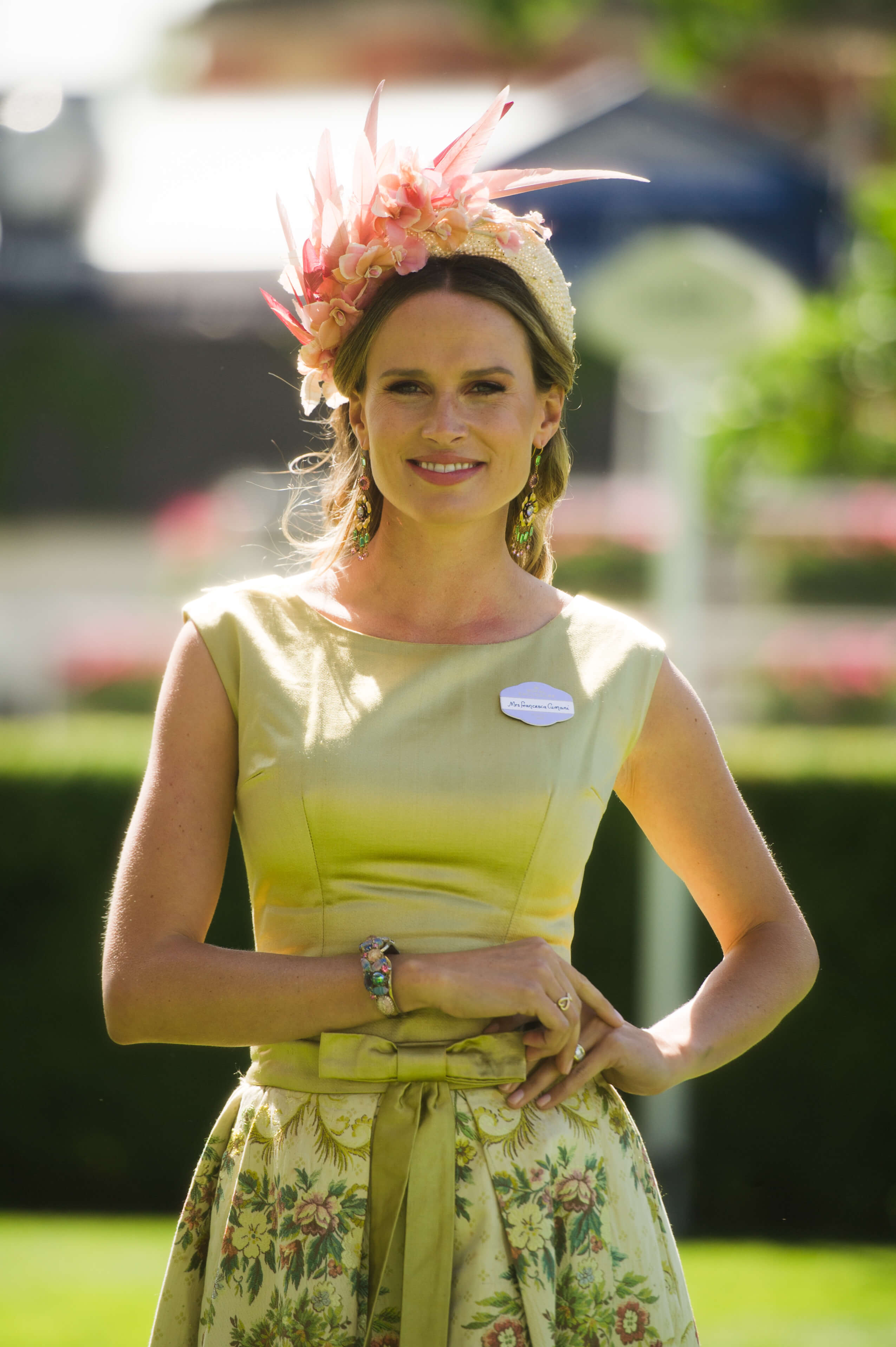 Jennifer Gibson Jewellery | As Seen on Francesca Cumani ITV Aintree 2018| 20th Century Jewellery Today