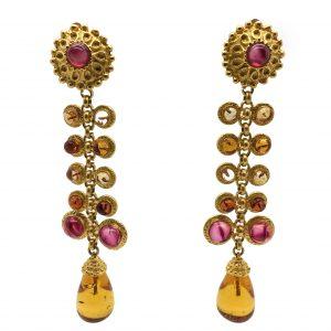 Deanna Hamro Vintage Earrings, Vintage jewellery, vintage costume jewellery