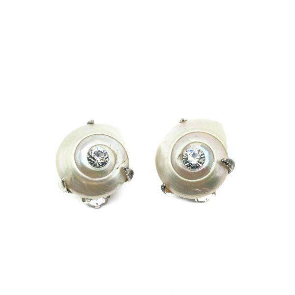 1990s YSL Seashell Earrings