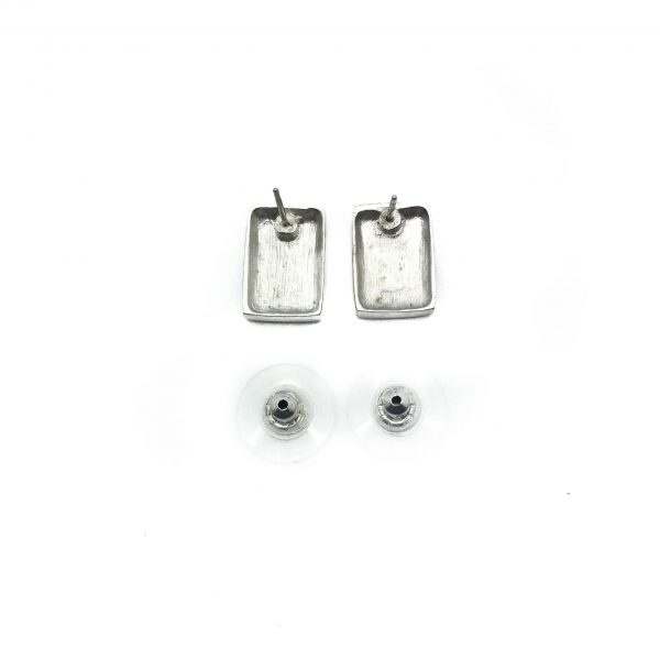 1990s Givenchy Silver Earrings