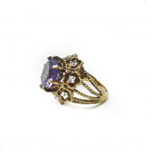 1960s Panetta Cocktail Ring