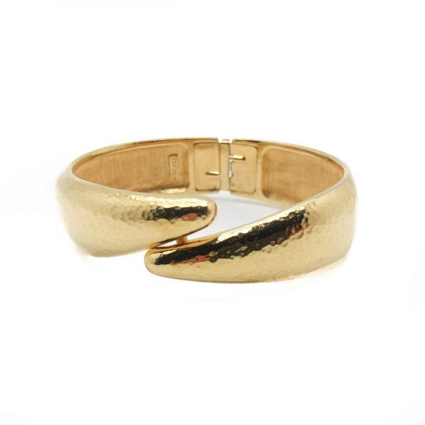 1980s Monet Gold Bracelet