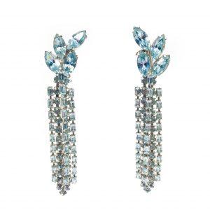 1950s WEISS Statement Earrings