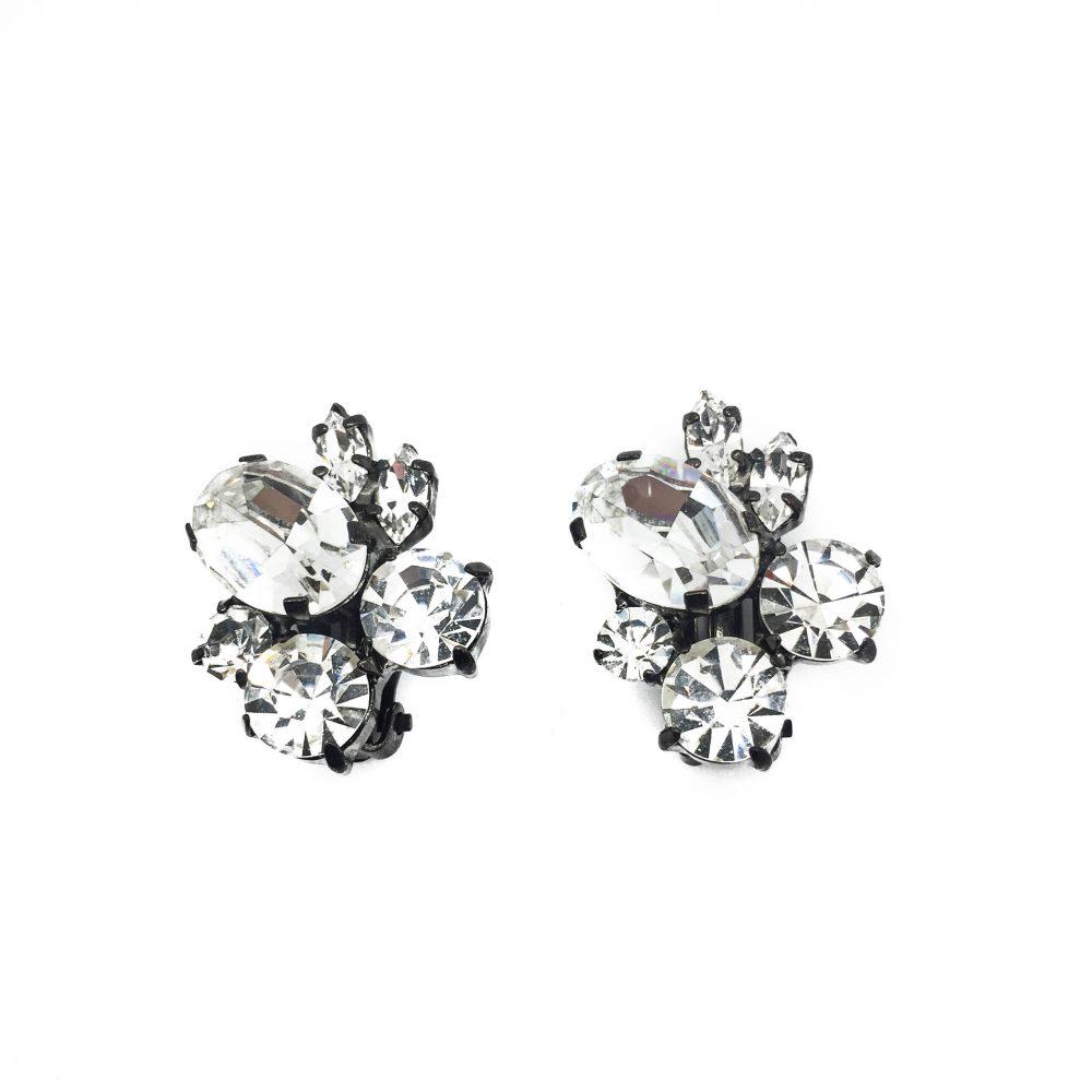 1980s Butler & Wilson Crystal Earrings