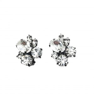 1980s Butler & Wilson Crystal Earrings
