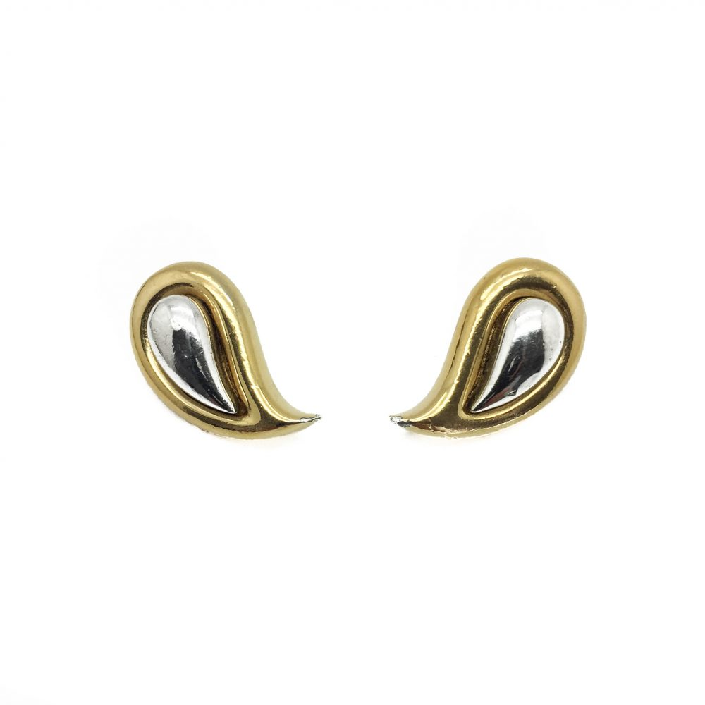 1978 Givenchy Paisley Earrings