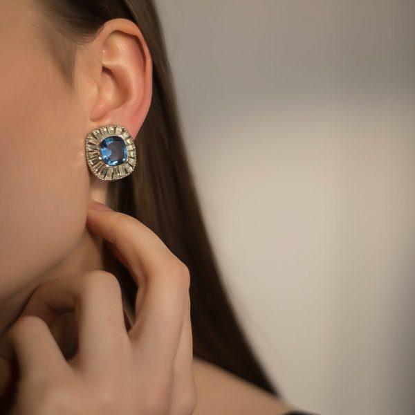 Vintage Jomaz Earrings Jennifer Gibson Jewellery