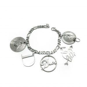 1980s Vintage Dior Charm Bracelet