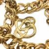 Vintage Givenchy Gold Charm Necklace